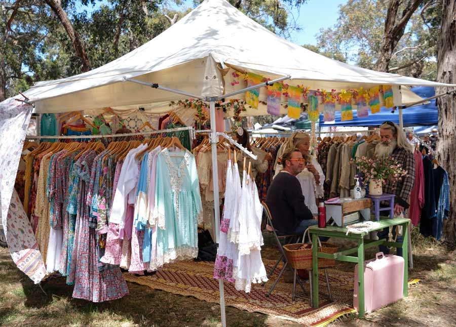 Stall at Emu Plains Market