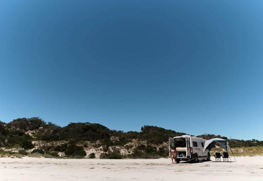 beaches on kangaroo island